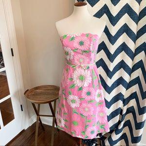 Lilly Pulitzer Hibiscus Pink Scallop Cabana Dress